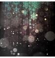Sparkling green background EPS 10 vector image