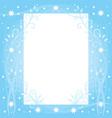 winter dreams vector image vector image