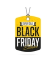Black Friday sale sticker isolated vector image vector image
