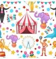 Gypsy Circus Pattern vector image