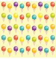 ice-cream background vector image vector image
