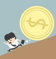 Money trap vector image