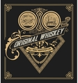 Old Whiskey Label vector image vector image