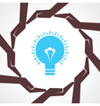 Save idea or energy concept vector image