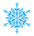snowflake icon illlustration vector image vector image