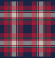 tartan background fabric texture seamless pattern vector image vector image