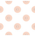 white sewing button pattern flat vector image vector image