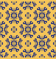 abstract floral geometric seamless asian pattern vector image