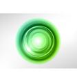 background green light center vector image vector image