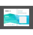 Brochure Flyer design business Layout vector image vector image