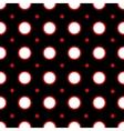 Cirsle geometric seamless pattern vector image