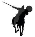 Horseman vector image vector image