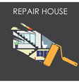 House remodeling infographic vector image vector image