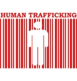 human trafficking relative image vector image vector image