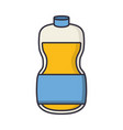 juice bottle icon vector image vector image