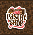 Logo for pastry shop