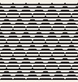 seamless black and white halftone lines vector image vector image