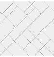 Seamless pattern diagonal polygonal rectangular vector image vector image