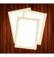 vintage photo frames vector image vector image