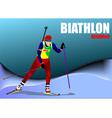 al 0719 biathlon 02 vector image vector image