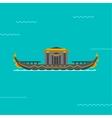 Boat vector image vector image