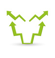 Business stock exchange vector image vector image