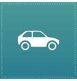 Car flat icon vector image vector image