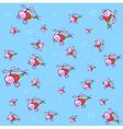 cartoon background vector image vector image