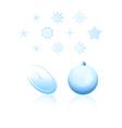 Christmas holiday design elements
