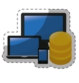 data center storage icon image vector image vector image