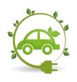 eco plug design vector image