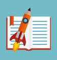 education concept elements icon vector image