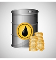 Flat about Oil price petroleum and vector image vector image