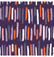 Seamless pattern design with sloppy doodle stripe