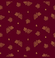 winery seamless pattern icons in linear vector image