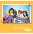 Best Friends Forever vector image