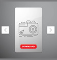 camera photography capture photo aperture line vector image