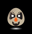 clown symbol image vector image vector image
