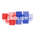 english word vector image