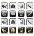 icon app set vector image vector image