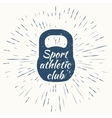 Logo for sport athletic club vector image vector image