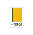 power bank icon vector image vector image