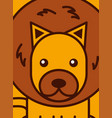 safari animals cartoon vector image vector image