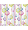 watercolor abstract seamless pattern with vector image