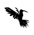 watercolor crow hand drawn artistic blackbird vector image vector image