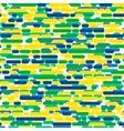 brazilian flag color vector image
