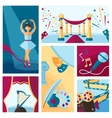 Art And Culture Decorative Banners Set vector image vector image