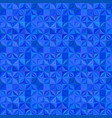 blue seamless abstract striped shape pattern vector image vector image