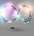 Futuristic Background with Water Element vector image vector image