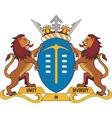 Gauteng Province CoA vector image vector image